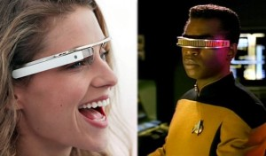 Google Glass comes in two styles.